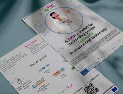 Flyer of Digi4equality Project